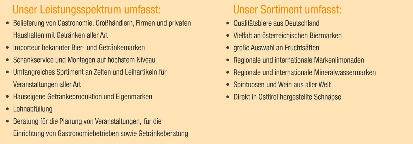 Handel / Getränkewelt Handels GmbH